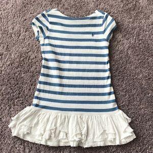 Ralph Lauren blue and white dress